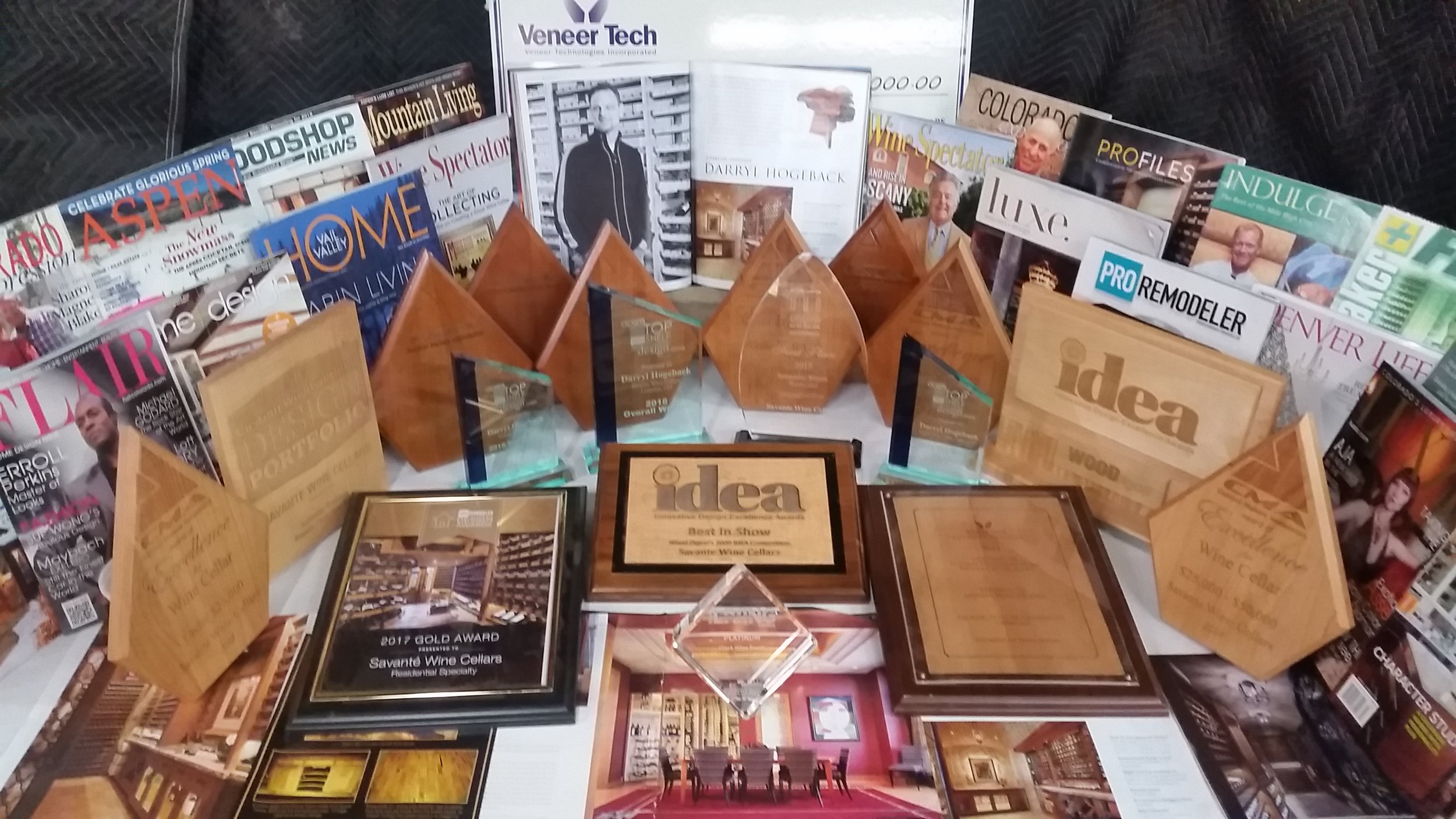 Many awards