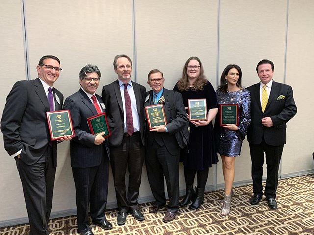 Congrats to all the distinguished honorees from last night's SPJLA awards, and a very big hand for the evening's master of ceremonies, @frankmottek! 🎉 Thanks for having us! #awards #spjla
