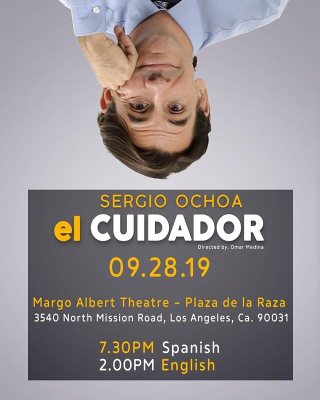 We are so excited to be welcoming @soysergioochoa to LA for his amazingly HILARIOUS one-man show!  Click thru Sergio's profile for tixs!! 👆🏼👆🏼👆🏼Check our below for the details 🥰🤗🎭 — El Cuidador or ¡Mom the car keys don't go in the fridge! is a funny, honest, and deeply moving monologue, written and performed by celebrated Mexican actor Sergio Ochoa (Bartolomé in Univision's hit comedy Simon Dice)  Saturday, Sept 28th at •••2pm (English) •••730pm (Spanish)  Playing at @plazadelaraza #AlbertMargoTheatre in #EastLA  Ochoa's fast paced one-man show is both a personal memoir and a tribute to his glamorous mother. Both tender and hilarious, Sergio Ochoa reminisces about his childhood as the son of famed Mexican comedic actress Leonorilda Ochoa, her remarkable life, and the challenges of juggling his career with his role as his mother's caretaker, following her diagnosis of early onset Alzheimer's Disease. . . . #PlazaDeLaRaza #OneManShow #Theatre #ElCuidador #TheCaregiver #SaturdayVibes #EnglishtoSpanish #MexicoCity #SergioOchoa #LatinoTheatre #MexicanTheatre