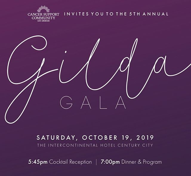 Team Moore : Good is gearing up for tomorrows #GildaGala2019 — we are thrilled to be apart of such a wonderful community at @cancersupportla and beyond!! — Can't wait to honor— @kenjeong • #AnnetteStantonPhD of @ucla • and @bedfordbreastcenter  With some amazing special guests, this evening is going to be one for the books!! — #PR #BoutiquePR #GildaGala #SoNoOneFacesCancerAlone #CSCLA #CancerSupportCommunityLA