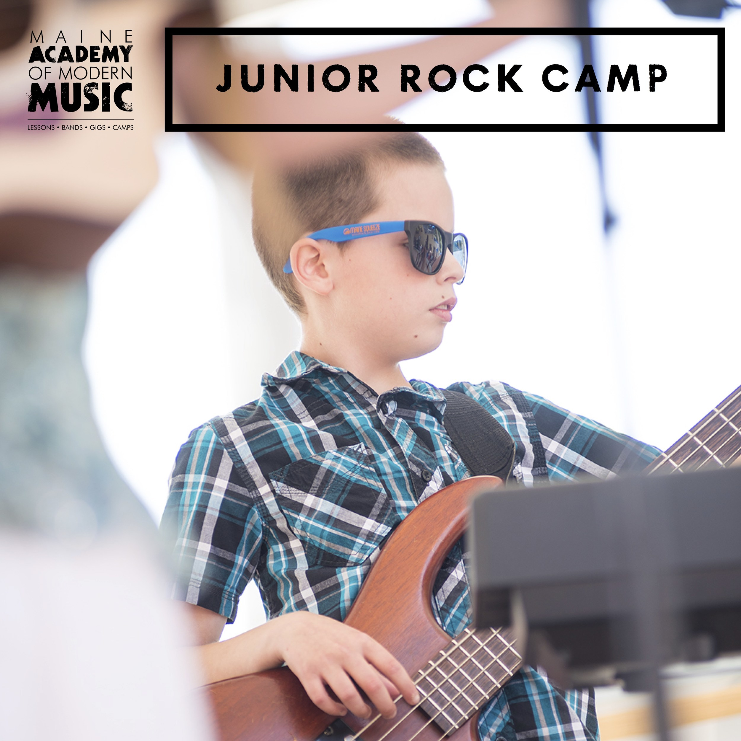 MAMM's Junior Rock Camp provides the youngest rock stars (8-11) with a basic introduction to the genre. At this   TWO WEEK CAMP   students are introduced to the instruments used in rock n roll and will learn how work together to play in a band.   PORTLAND:    Session 1 - June 24-July 5    Session 2 - August 12 - 23    TUITION:    Session I - $550    Session II - $600    HOURS: 9am-3:30pm    *Session I will NOT meet on the 4th of July and our costs are adjusted accordingly.