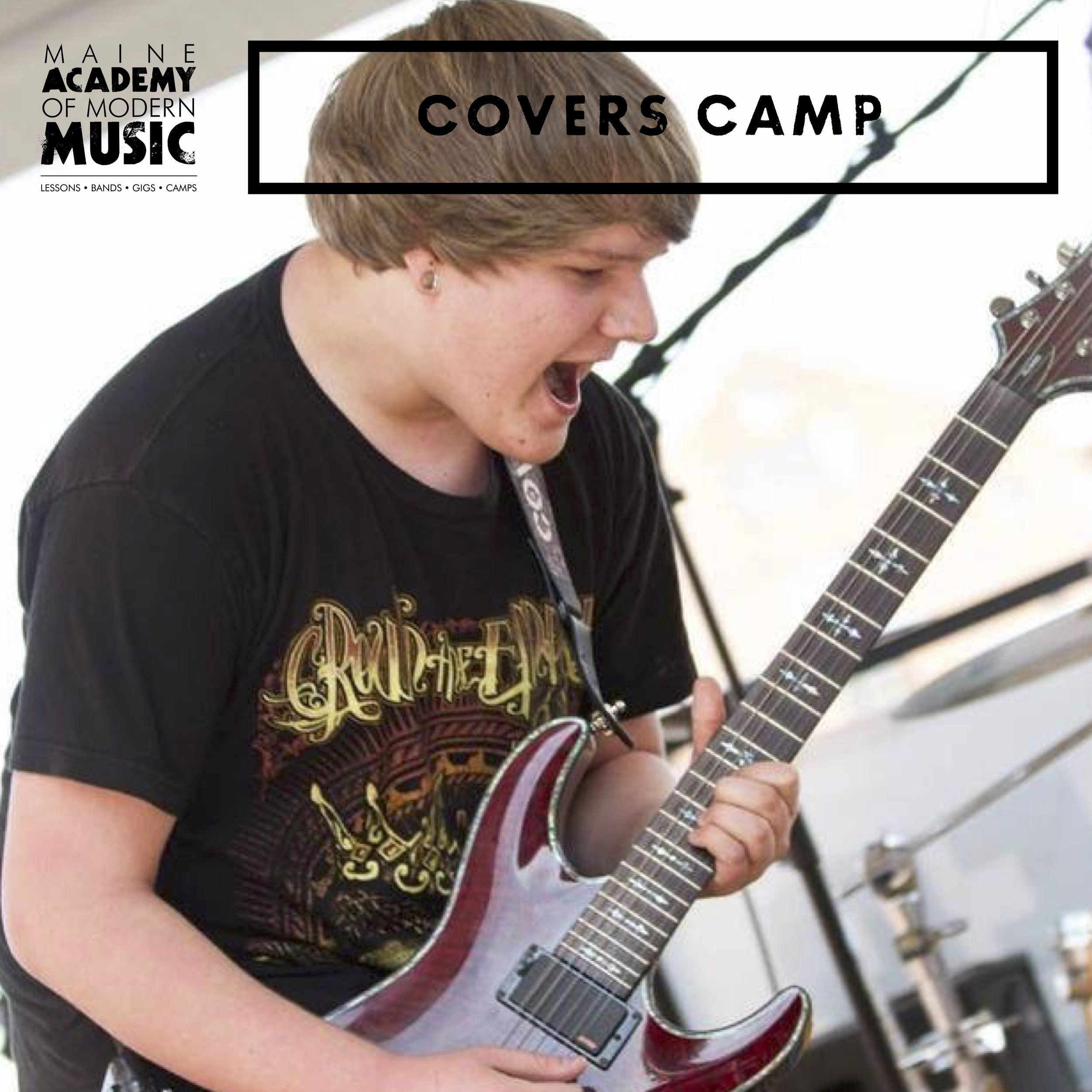 Campers form ensembles and learn how to play covers of popular songs from their favorite bands like AC/DC, Green Day, Arctic Monkeys and The White Stripes with a live performance at the end of the week.   PORTLAND: August 5 - 9 & August 26 - 30    TUITION: $325 per week    HOURS: 9am-3:30pm