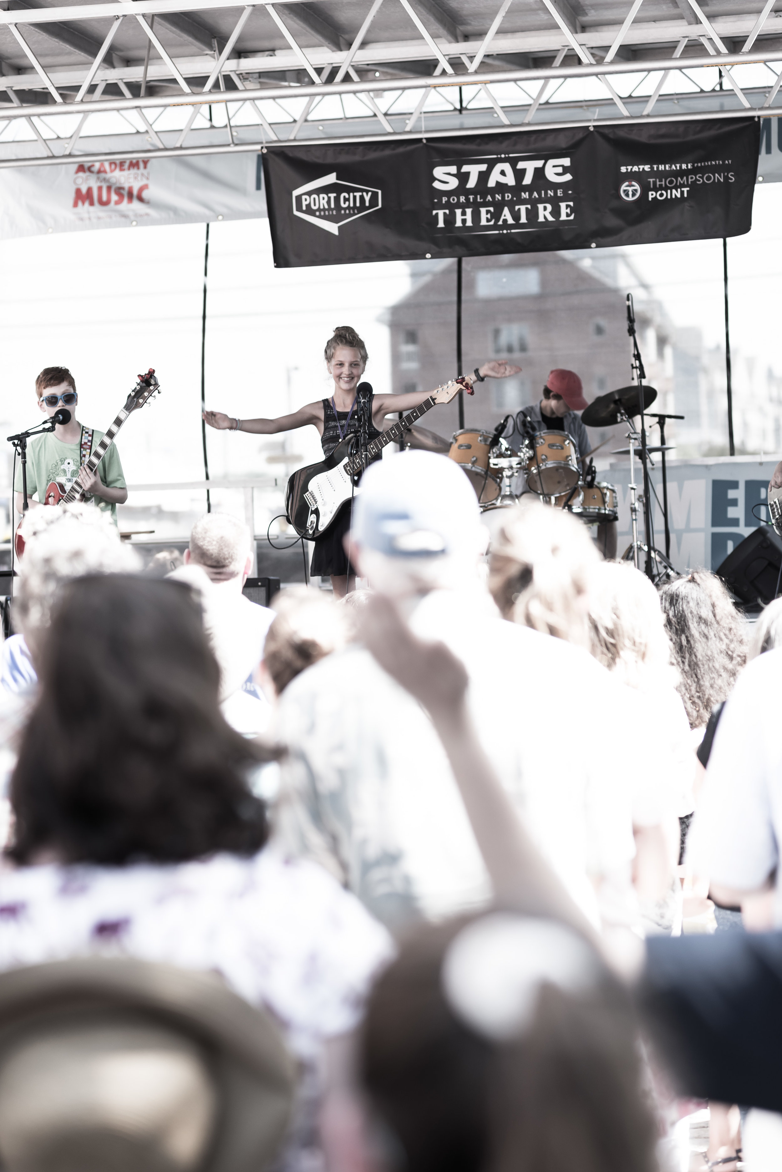 Student bands regularly rock the stages of popular local venues including Bayside Bowl, Aura, Port City Music Hall, and many others. -