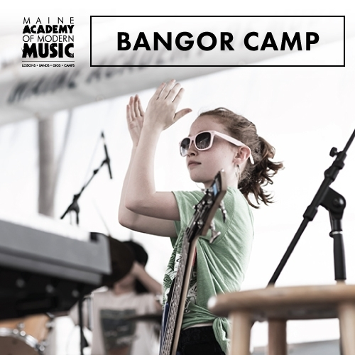 MAMM camps are an excellent opportunity for kids to play in a band, perform covers and write original music. Accomplished educators and members of local bands offer inside tips on self-promotion, booking, gigging, the history of rock and music theory.   BANGOR:     Session 1 - July 8 - 12    Session 2 - August 19 - 23    TUITION: $300 per week    HOURS: 9am-3:30pm