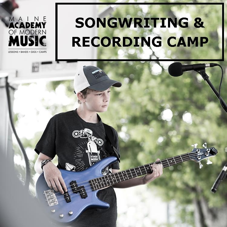 This   TWO WEEK CAMP   is a songwriter's dream. Campers will work together to write, record, and mix original songs. This hands on camp covers all of the basics of audio recording: pre-production, mic placement, over-dubbing, mixing, mastering, and inside tips and tricks of the trade.   PORTLAND: July 22 - August 2    TUITION: $700    HOURS: 9am-3:30pm