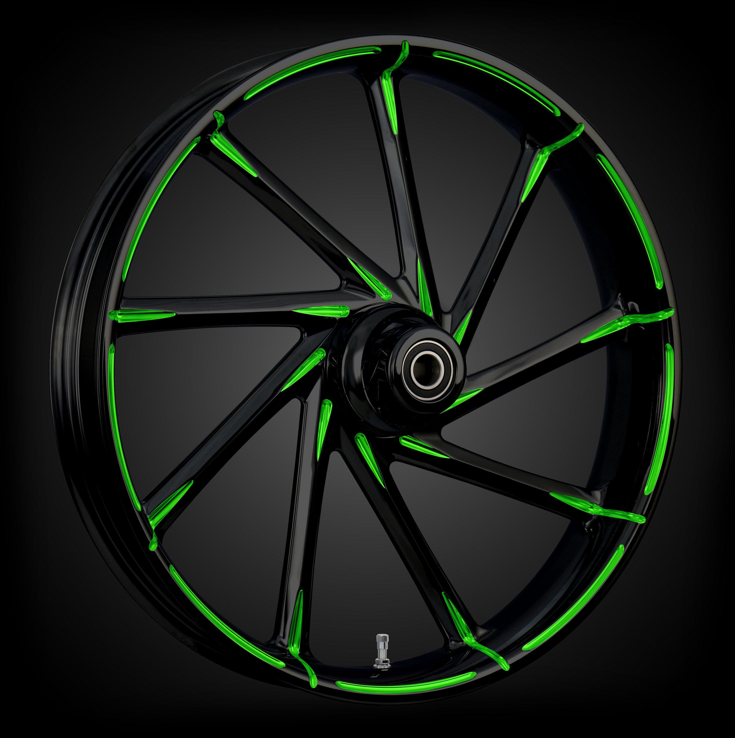 Kinetic Black & Green