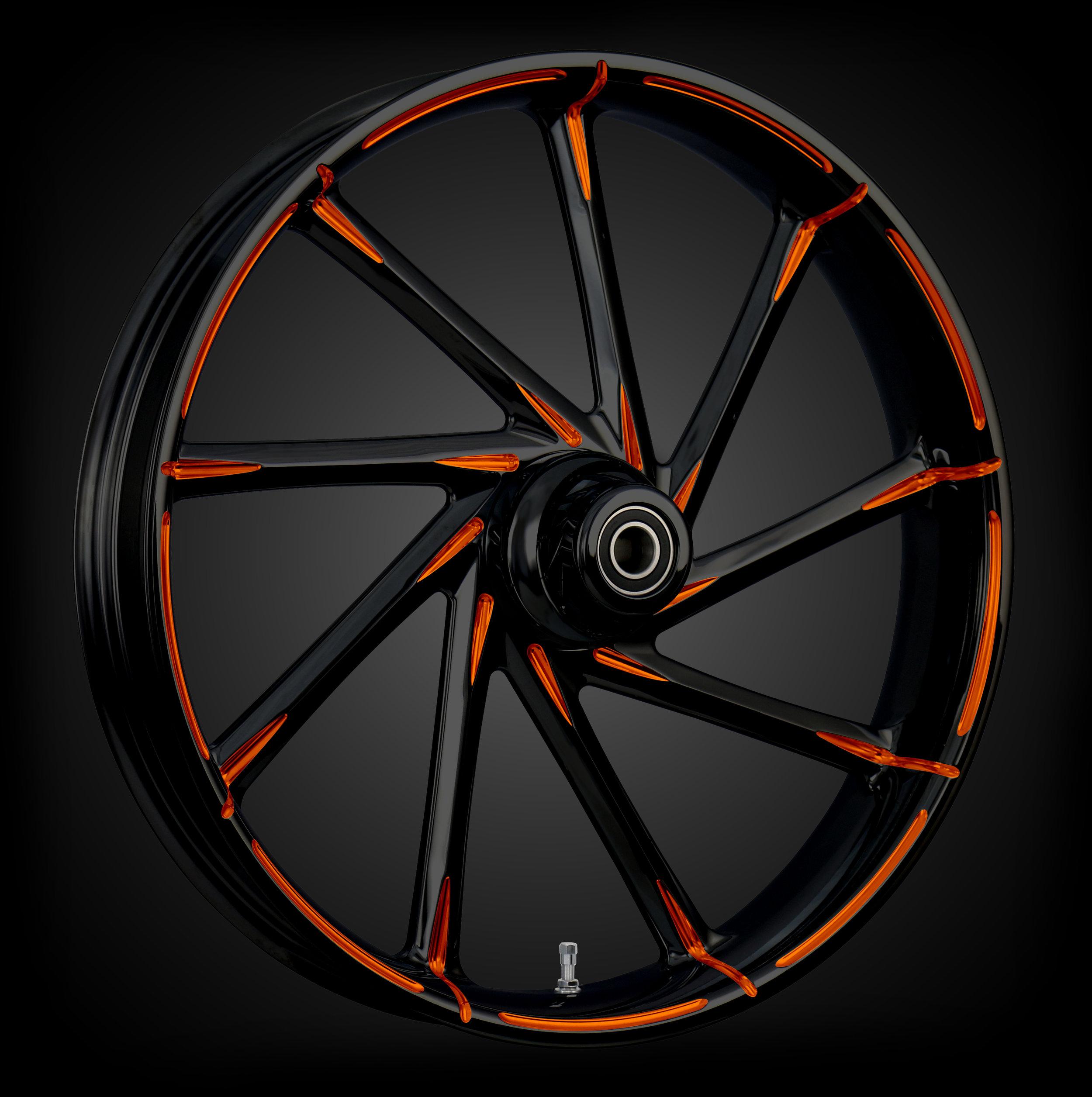 Kinetic Black & Orange