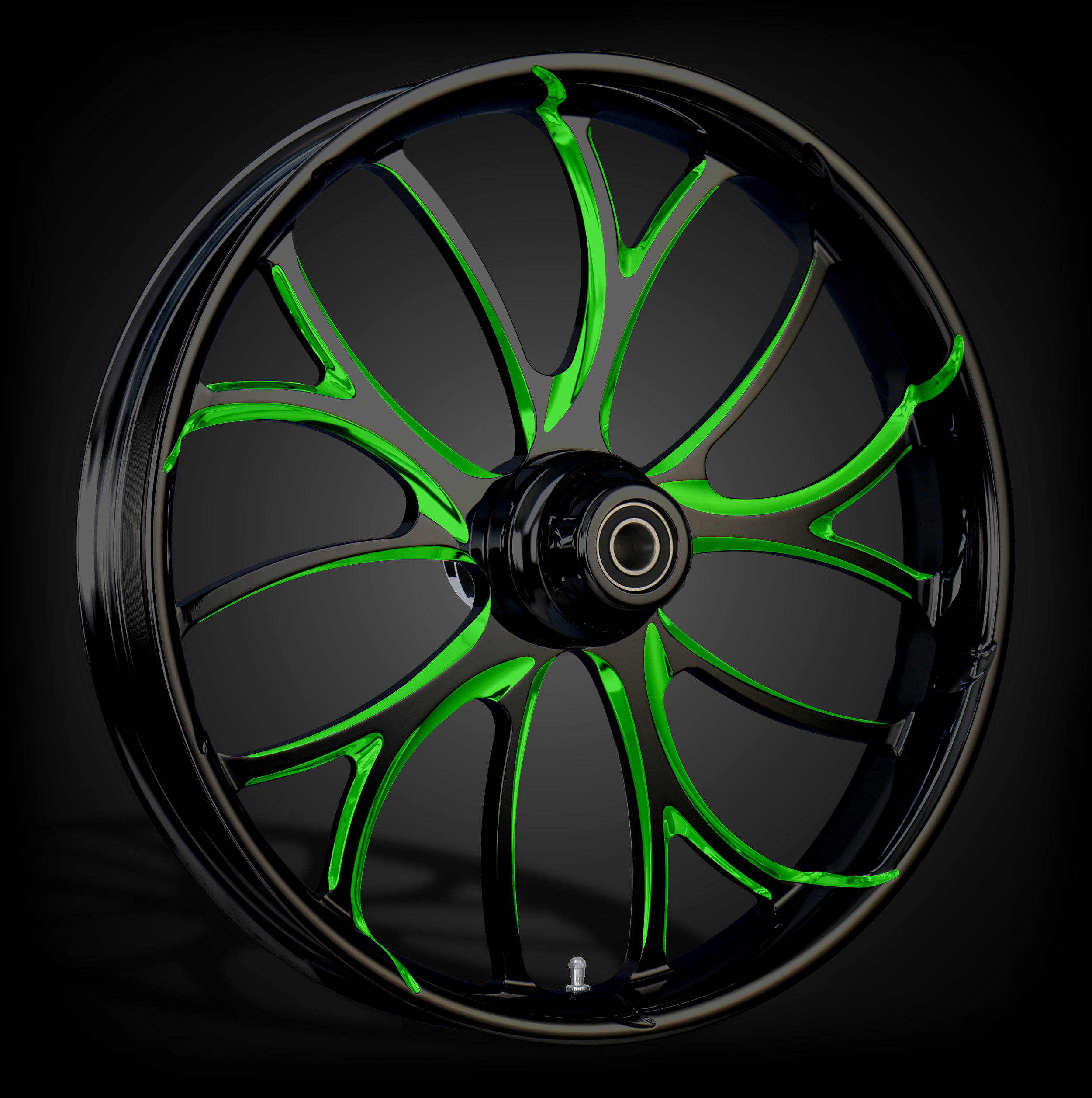 Electron Black & Green