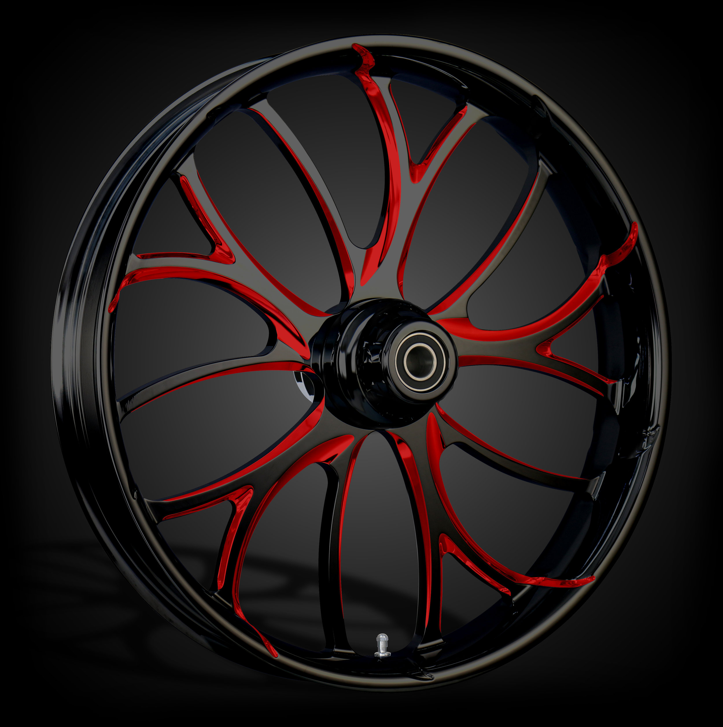 Electron Black & Red