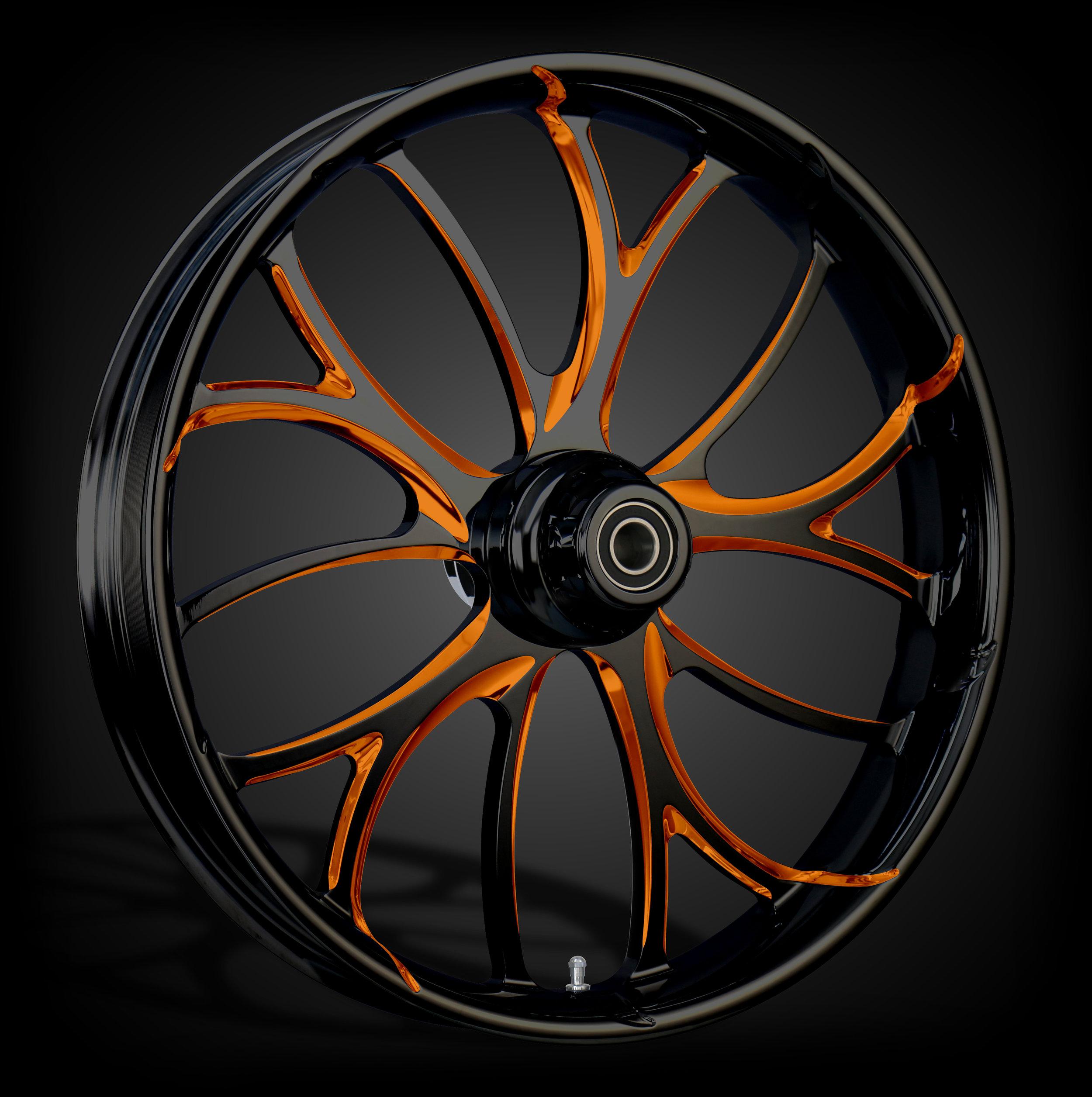 Electron Black & Orange