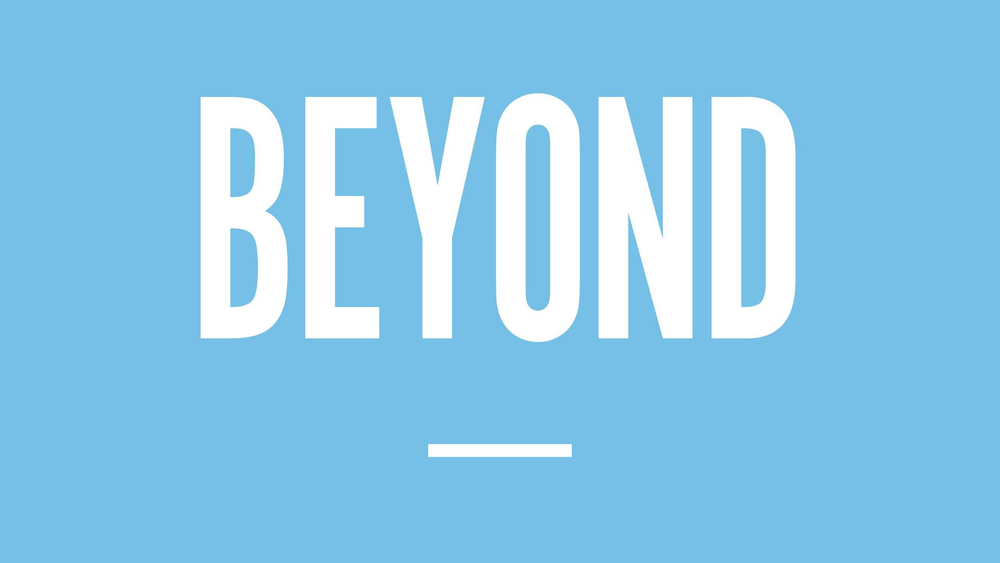 What if you discovered you already had the ability to do something that you previously thought was impossible? Join us for our Beyond series in March.
