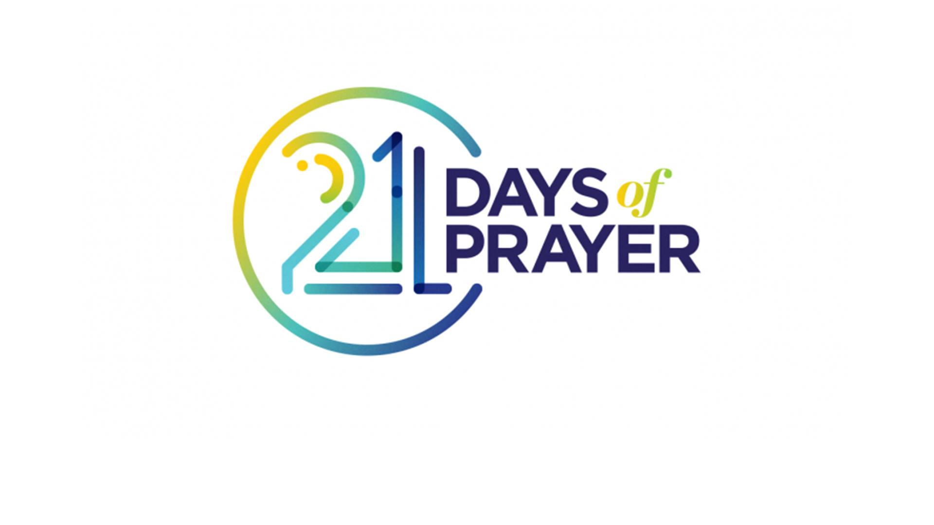 21 Days of Prayer offers us the opportunity to focus on spending time with God in prayer. It's a season to let go of things which may be holding us back and to pursue healthy spiritual growth through being known, loved, and challenged. Download the accompanying daily devotional  here .
