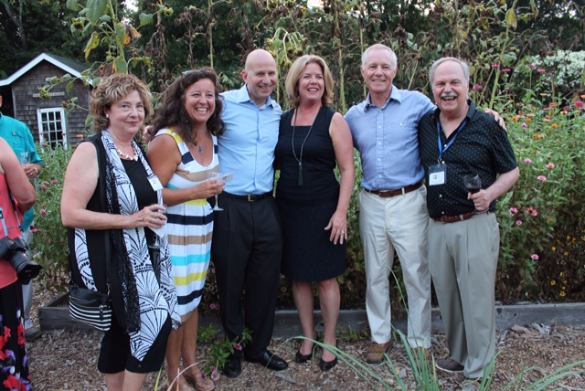 The governor and first lady, Jack and Carla Markell, were joined by event organizers Sheryl swed and Susan Ryan, at left, and david ryan and ray sander, at right. all Photographs by Ann-Margaret Donato, courtesy good earth market & organic farm..