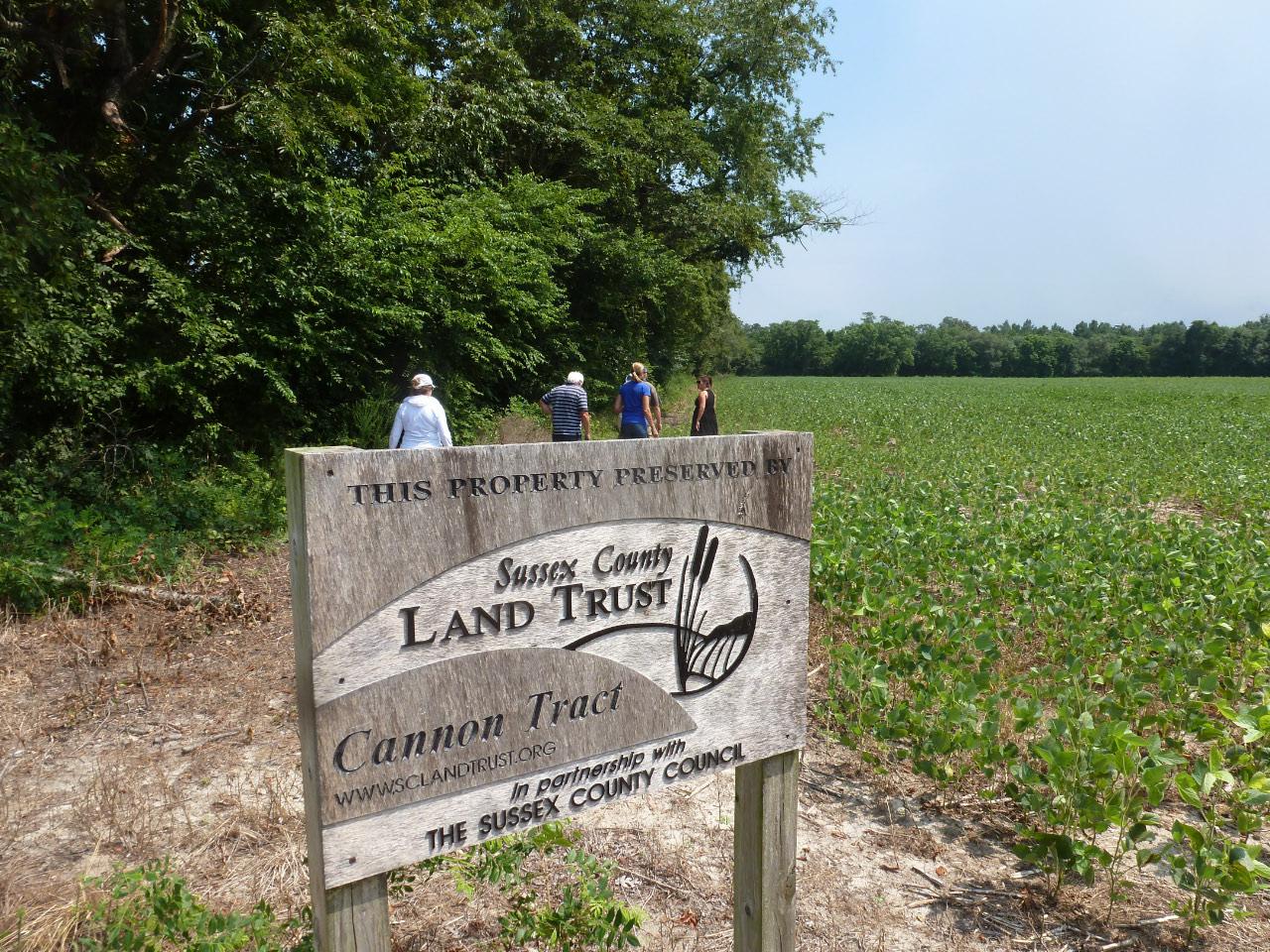 Land Trust sign:field_1554.JPG