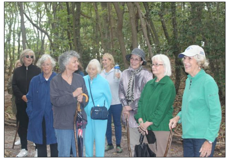 Members of the Sussex Gardens enjoyed a November tour of the Delaware Botanic Gardens site, led by Director of Horticulture Gregg Tepper. Shown are Myra McCormick, Tish Klineberger, Jenifer Hagy, MaryLinda Maddi, Susan Yerg, Elsbeth Wahl, Joy Toner, Marty Last, Karen Coombe, and Betsy Hansot.