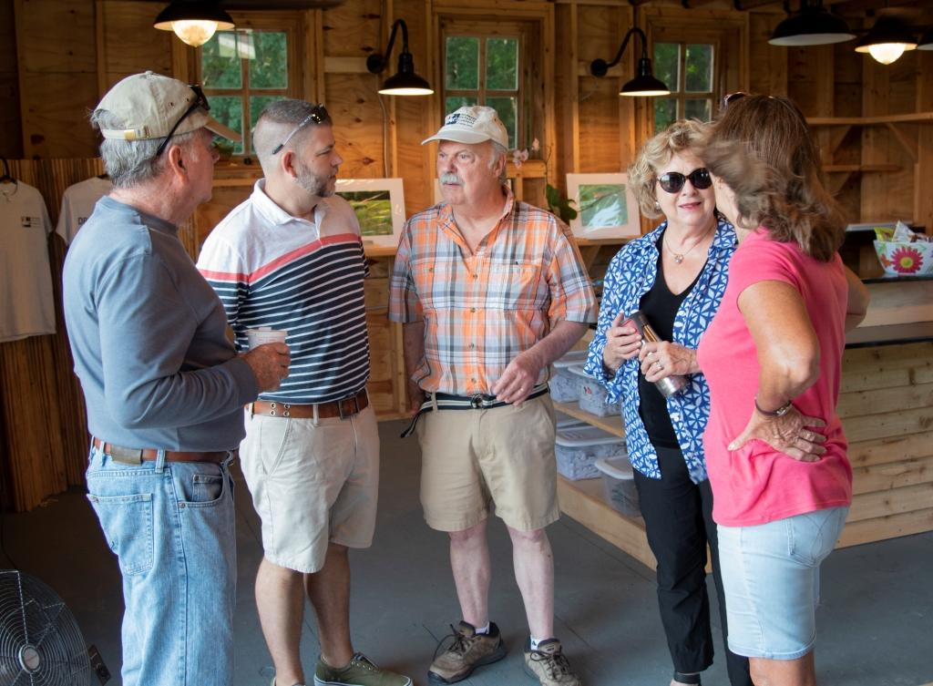 DBG Board Members chat with Brian Trader.jpg
