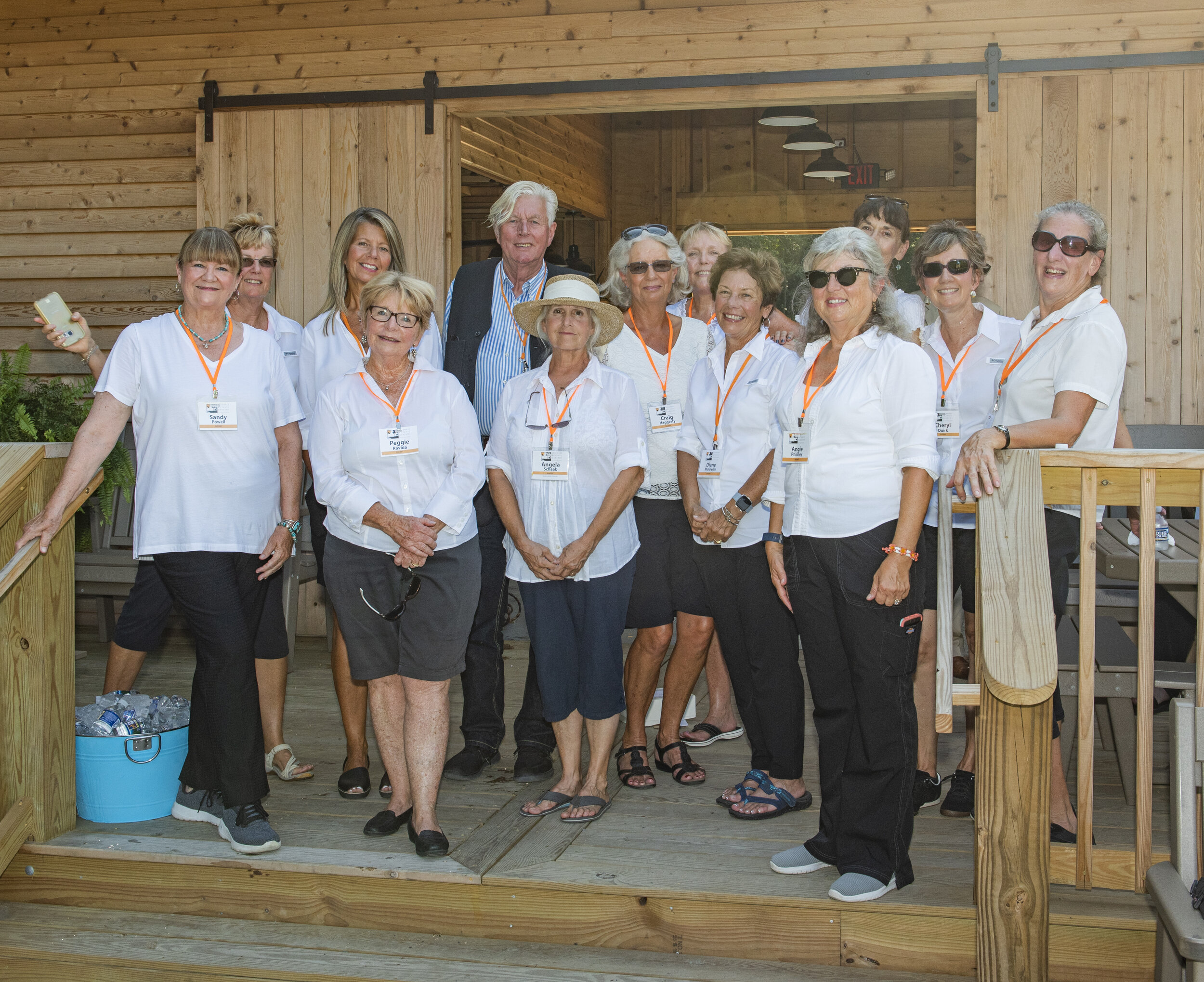 Docents at Grand Opening with Piet Oudolf