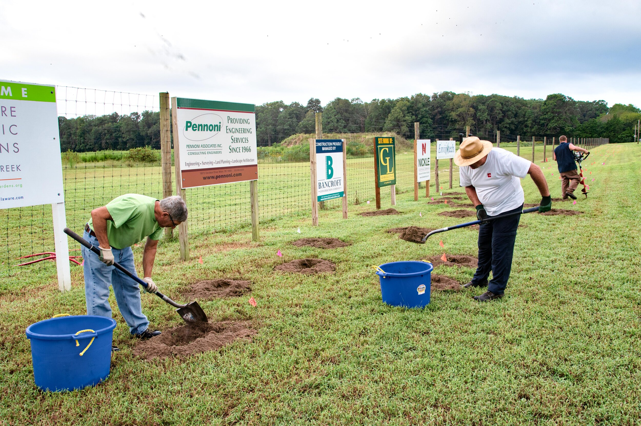 Delware Forest Service tree planting prep