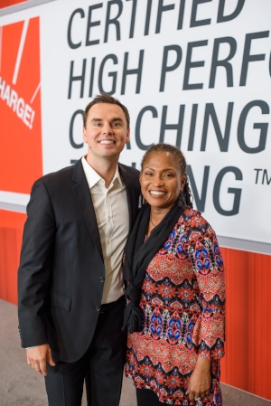 Me with High Performance Institute founder  Brendon Burchard