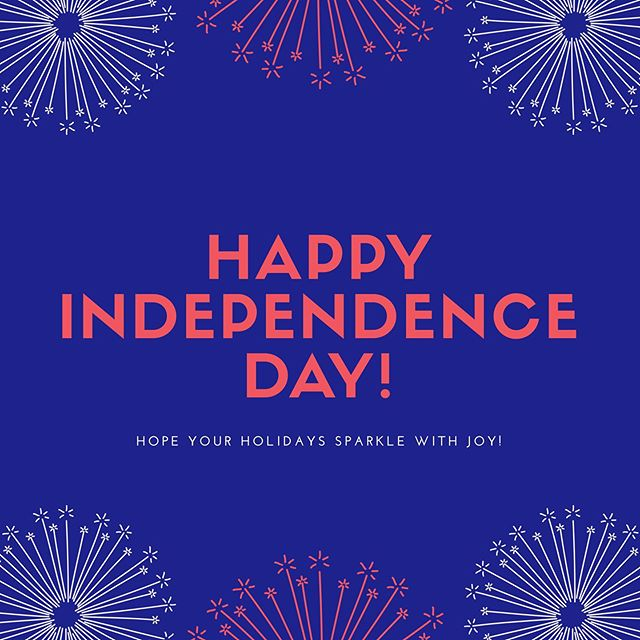 Happy Fourth of July from our Sanctus Family to yours!