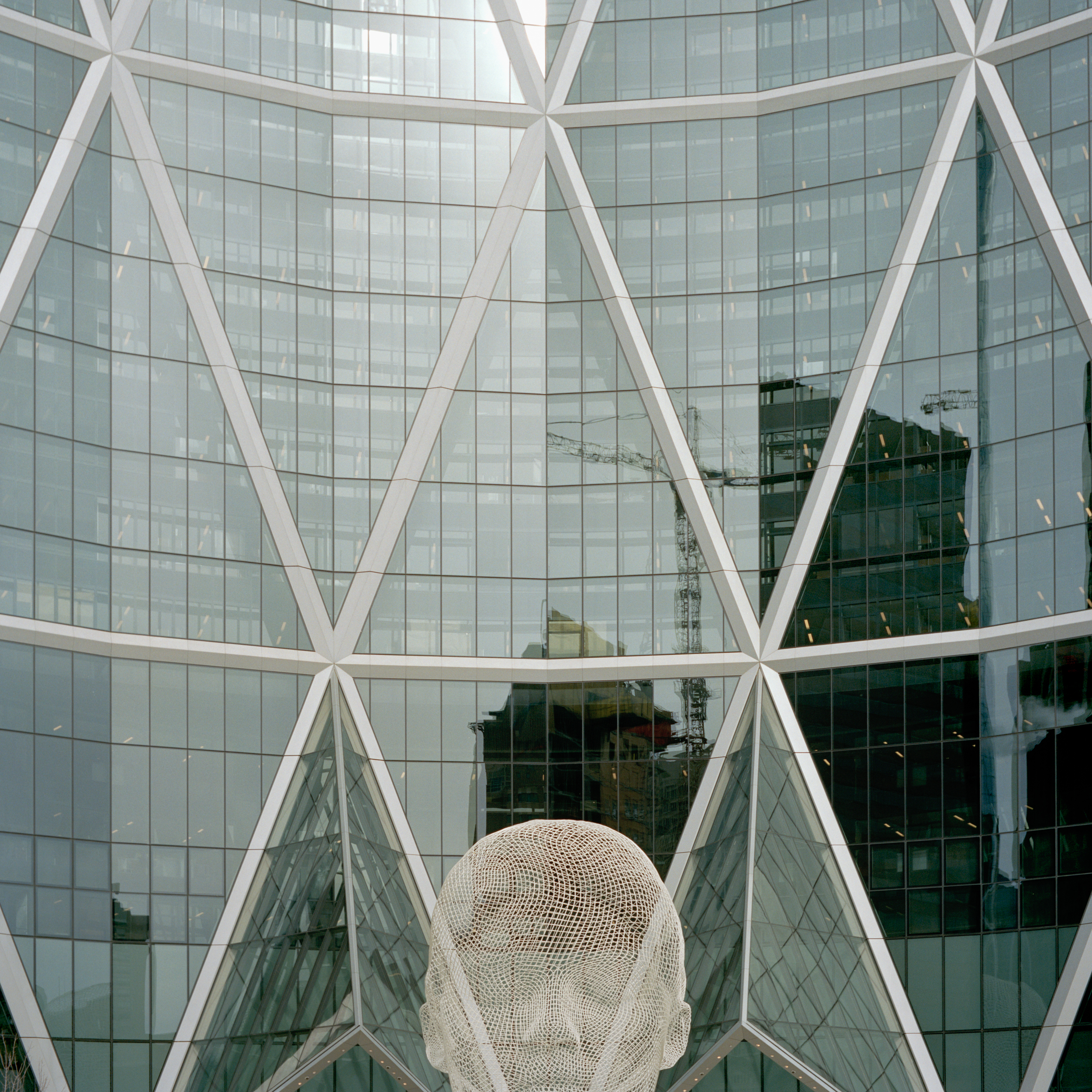 Sir. Norman Foster, Calgary.