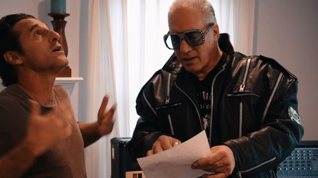 Had a cool opportunity to go film w/ Andrew Dice Clay last week at his place in LA. Dude kept me laughing the entire way through, come see him at @SonicTempleFestival next year! Also props to @garyspivack for playing the director on this one, such a great acting debut.