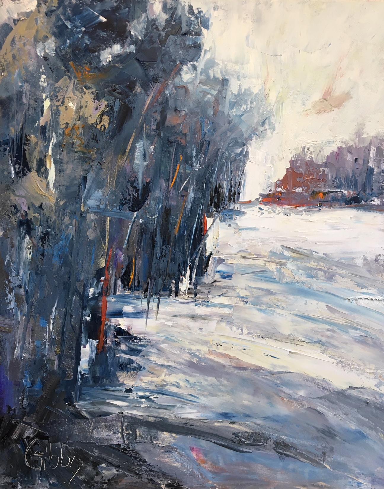 """""""Mystery"""" Oil on Canvas, 30 x 24"""