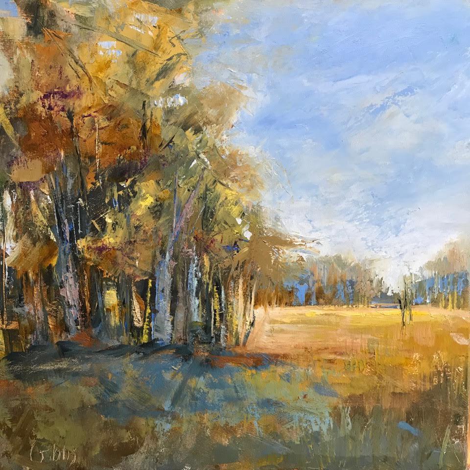 """""""Autumn Light"""", Oil on Canvas, 24x24"""