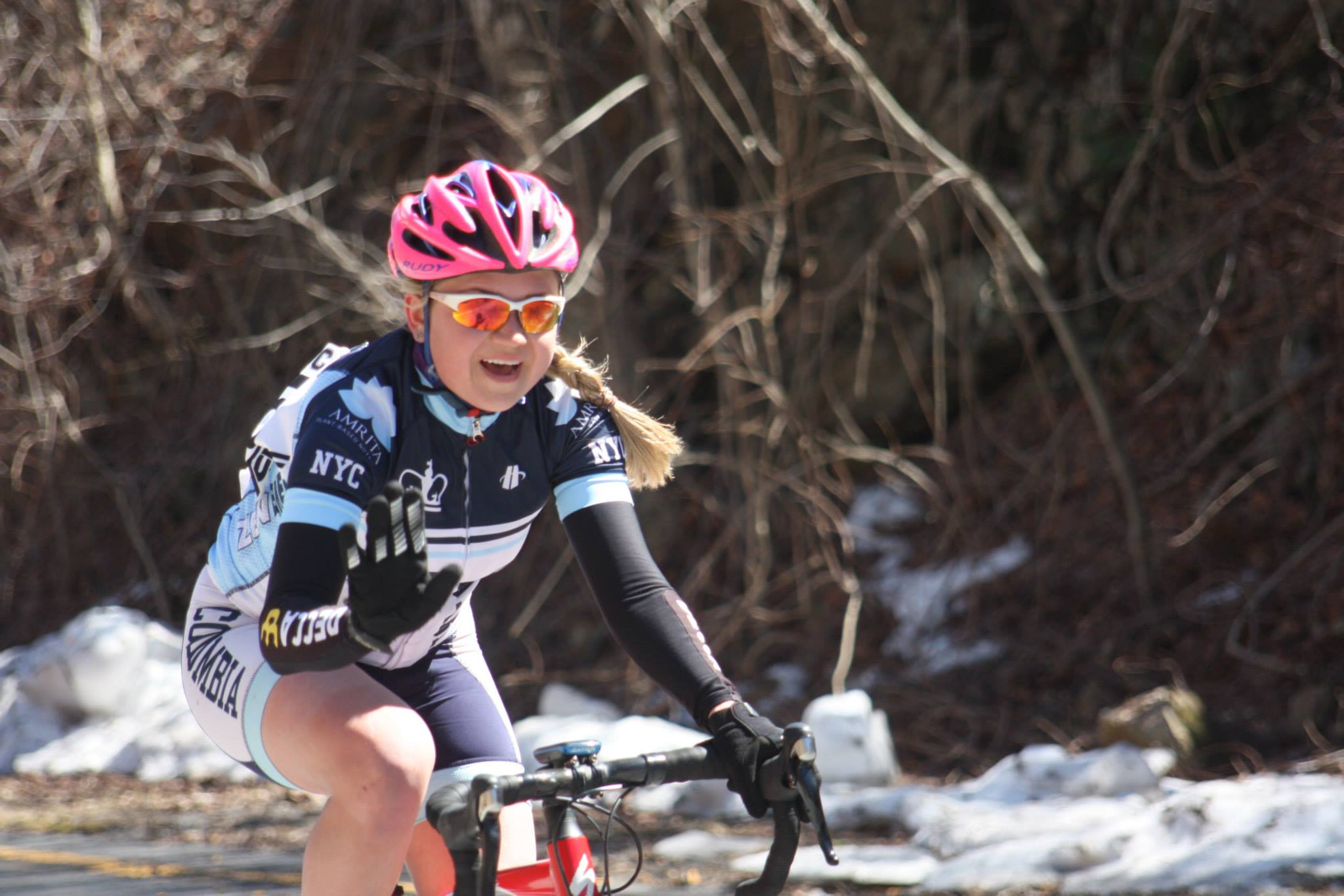 Anastasia yanchilina     Hometown: Moscow, Russia   Favorite Ride: Asheville Road Race   Racing Since: 2011   Competes in: Women's A