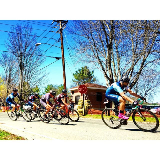 @rudabagle dropping the hammer in the #eccc Men's A criterium #racing #power #wattbomb
