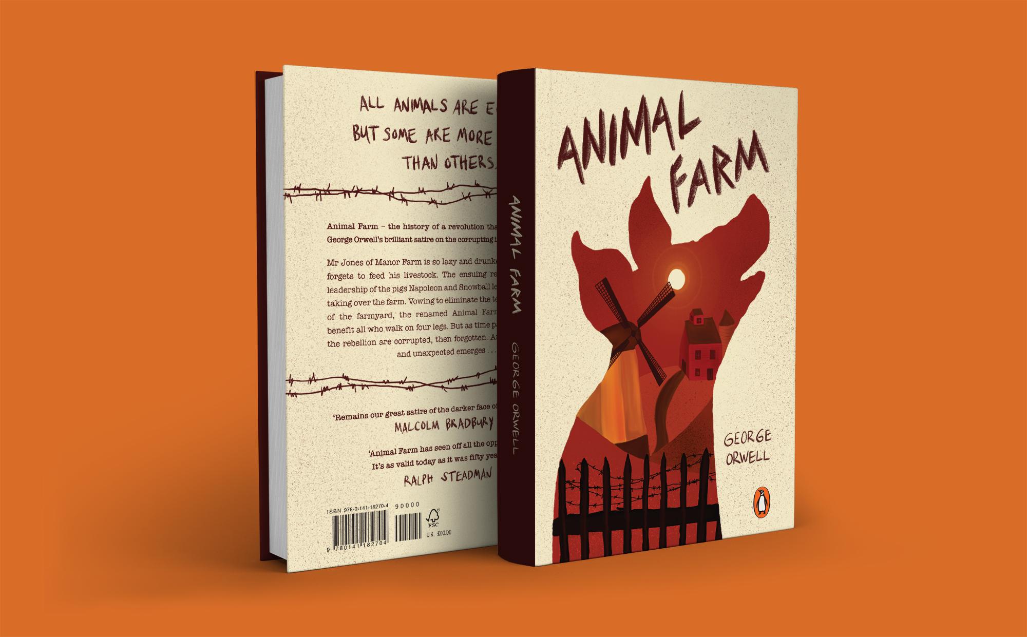 Animal Farm Front & Back