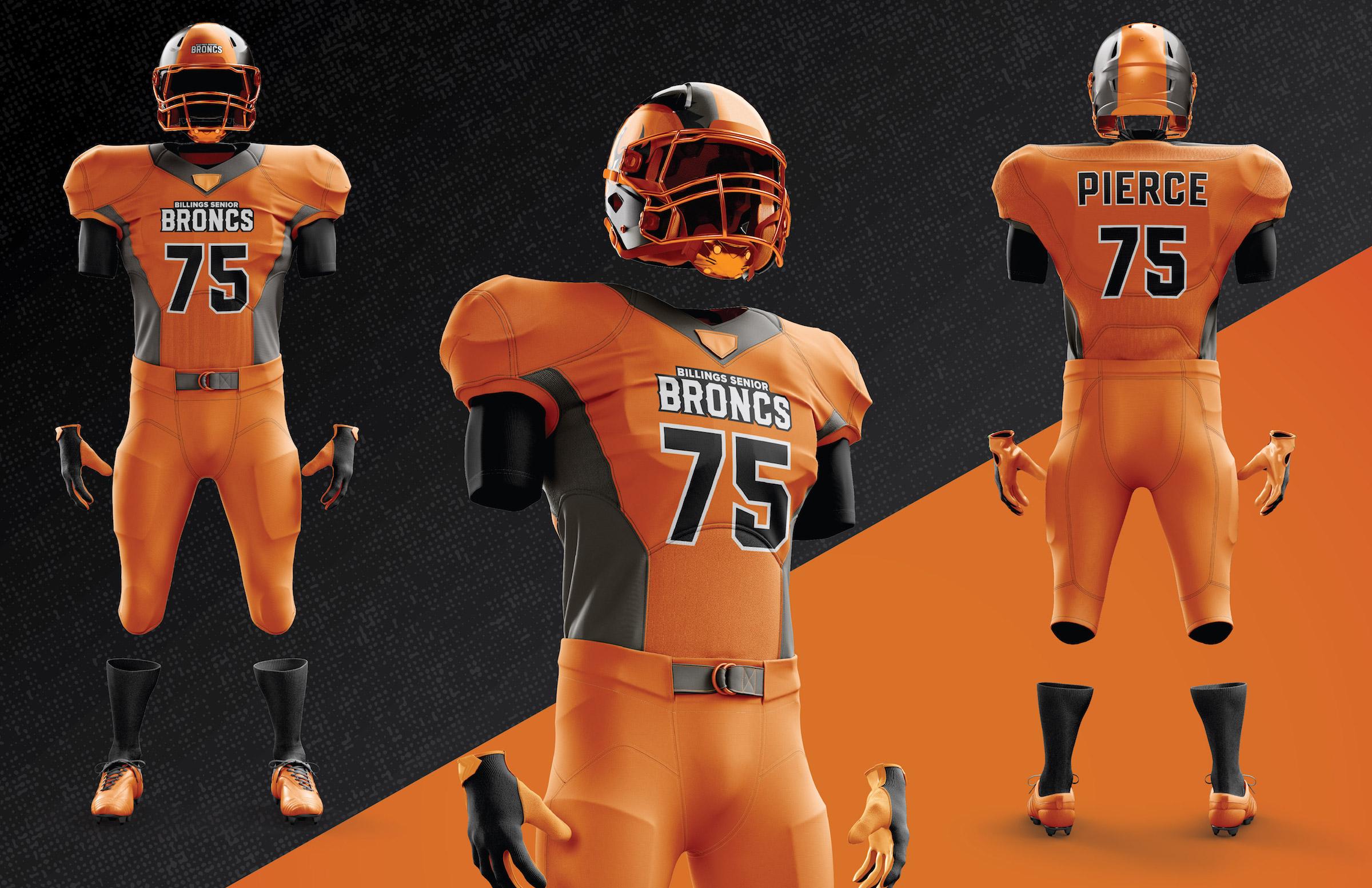 Broncs Uniform