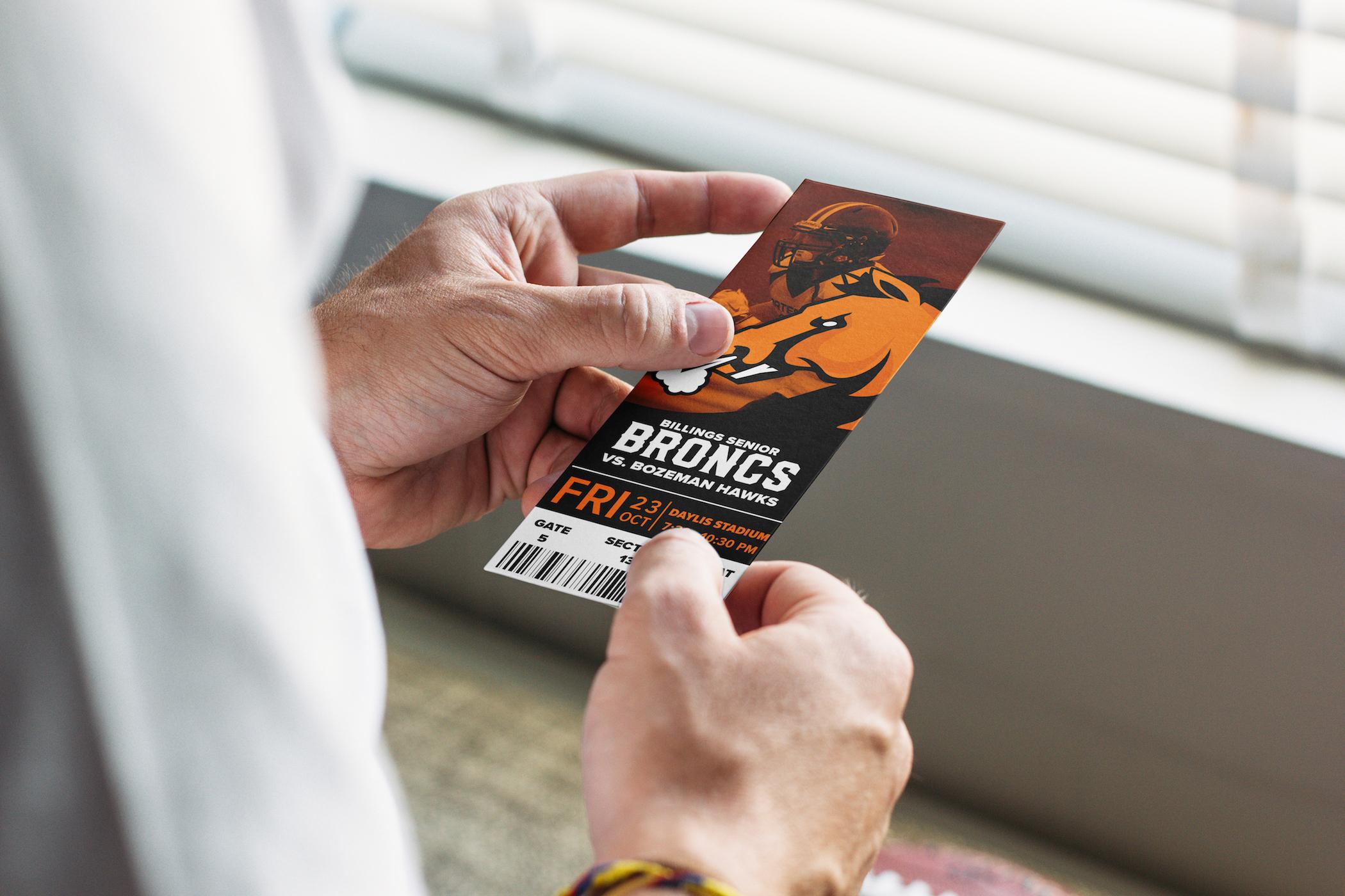 Broncs Ticket