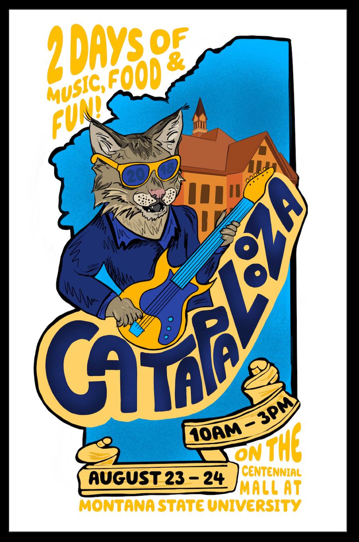 Catapalooza Poster