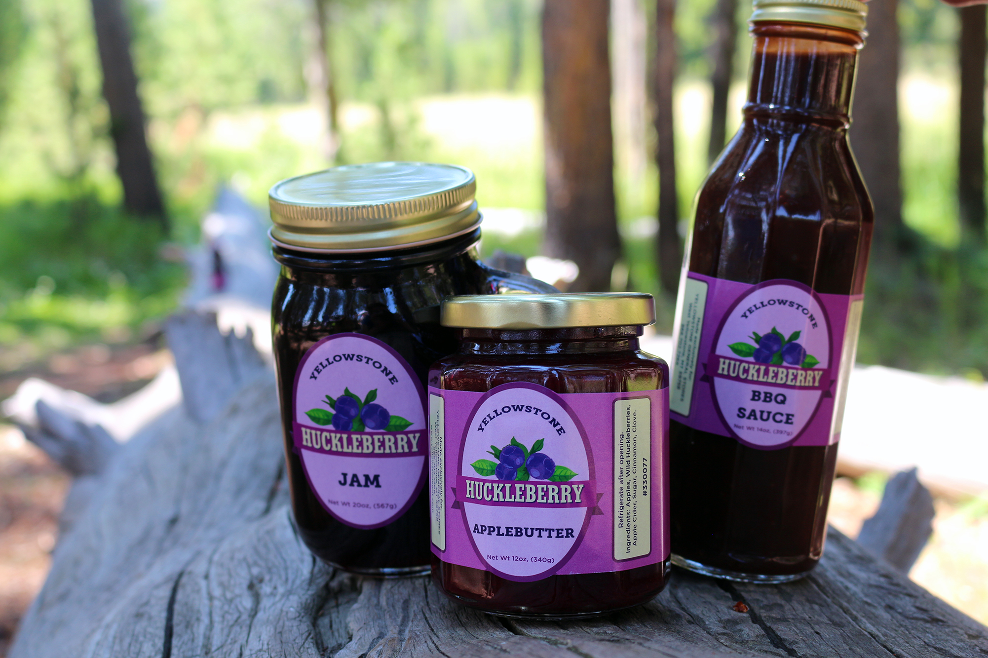 Huckleberry Labels