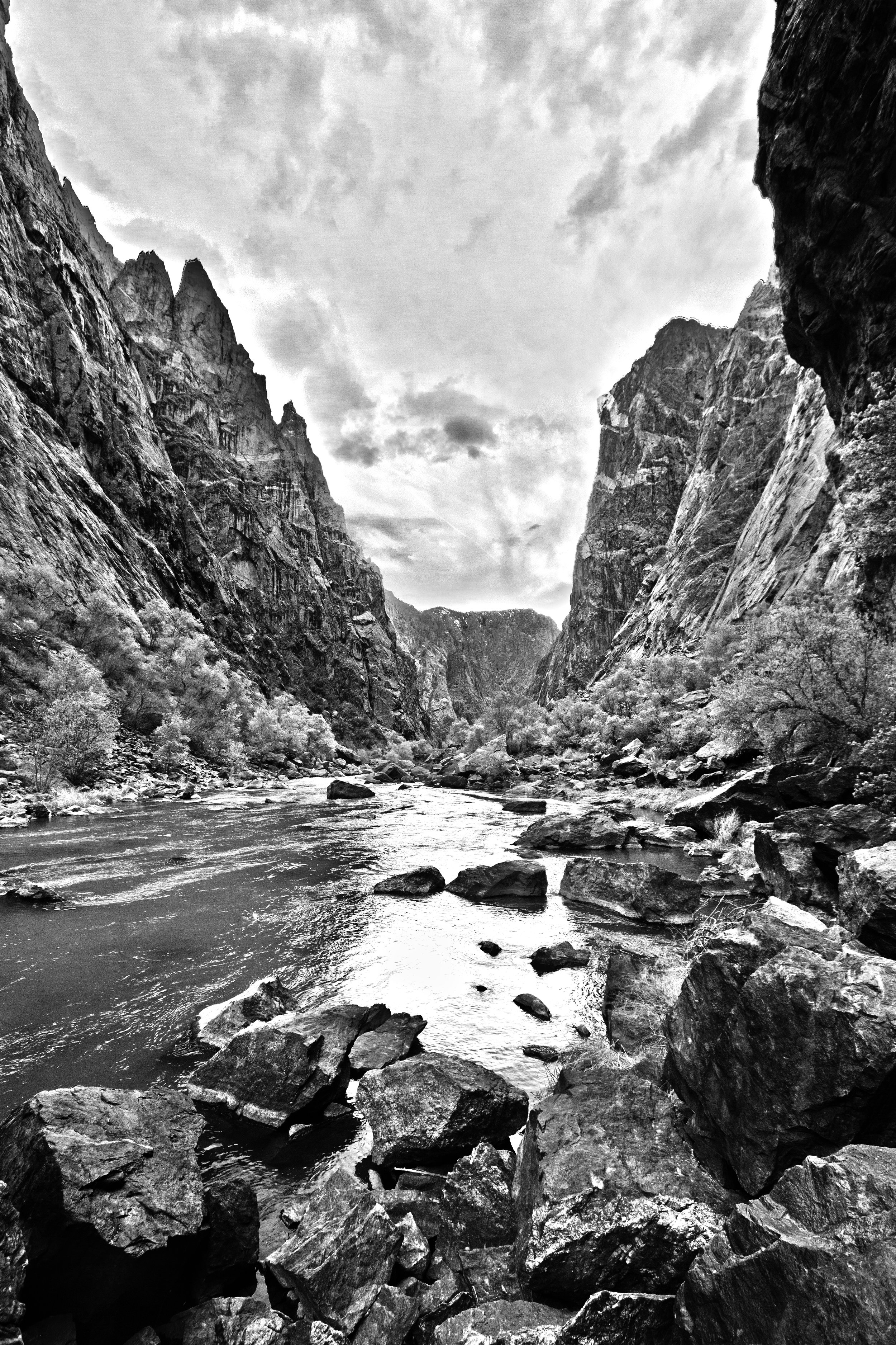 HDR Black Canyon 3 BW.jpg