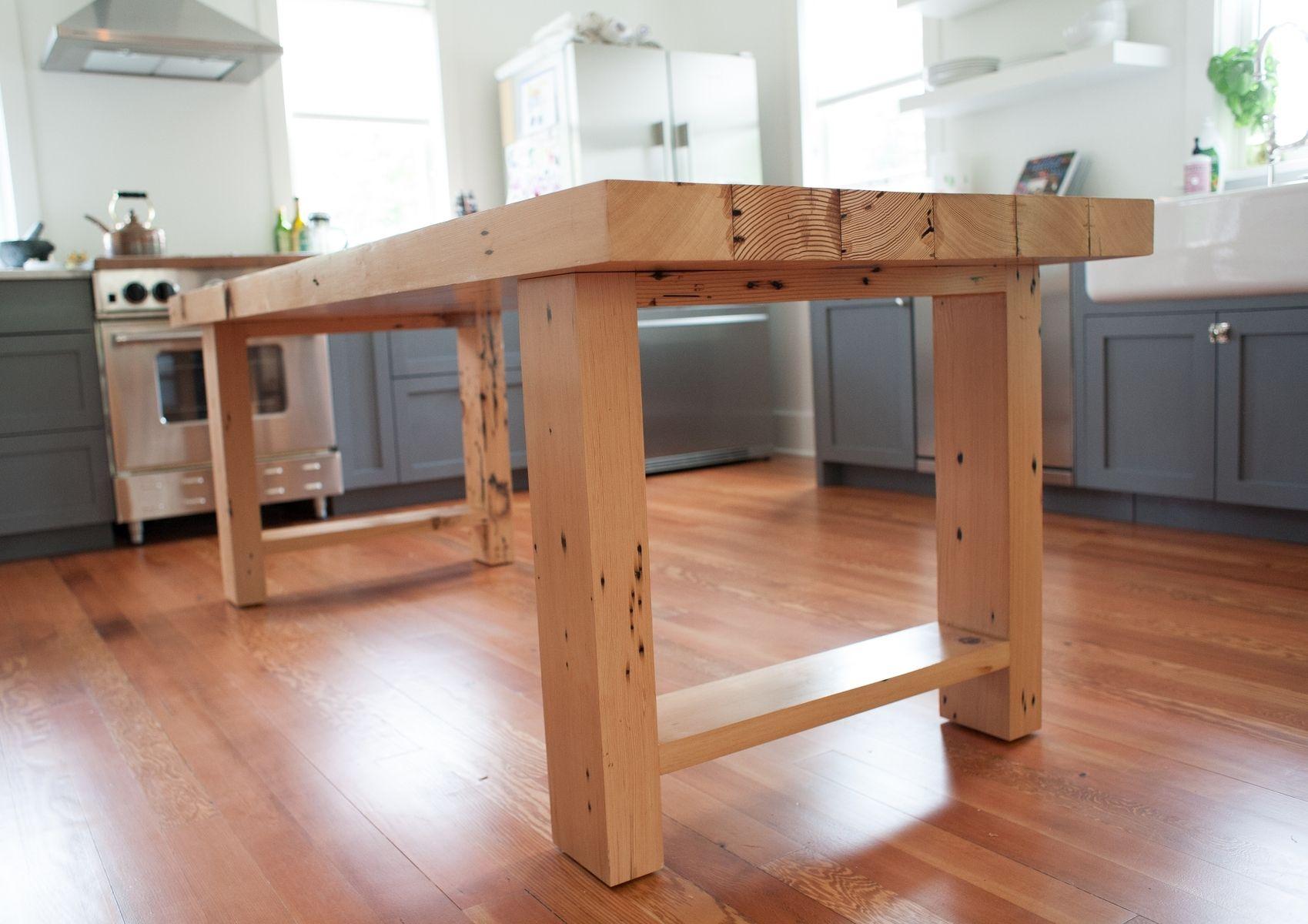 Reclaimed Fir Farmhouse Table