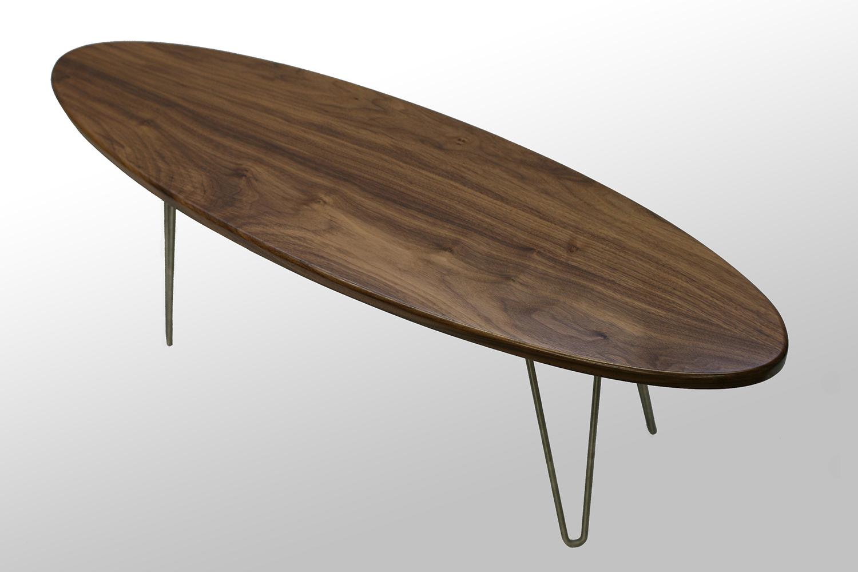Walnut The Longboard Coffee Table