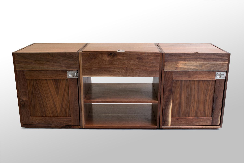 Three section Walnut coffee table low.jpg