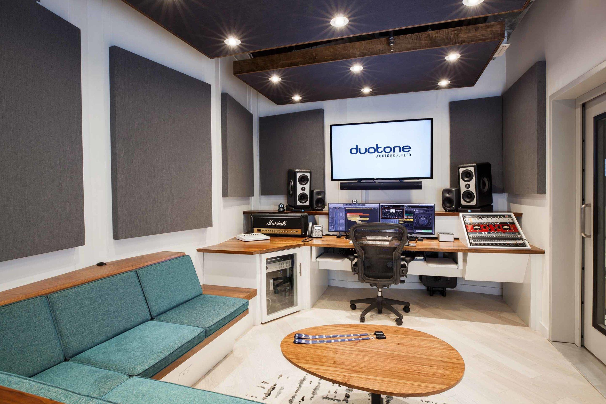 Recording Studio Furniture Grain Control Mid Century Modern Custom Furniture Brooklyn Ny