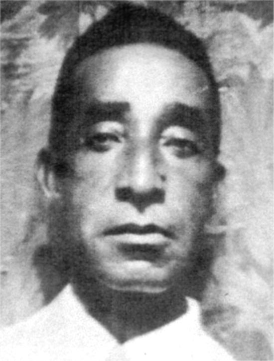 John A. Pierson, Slocum Survivor, Lost left leg in the Massacre(Felix Green, San Diego African American Genealogy Research Group)