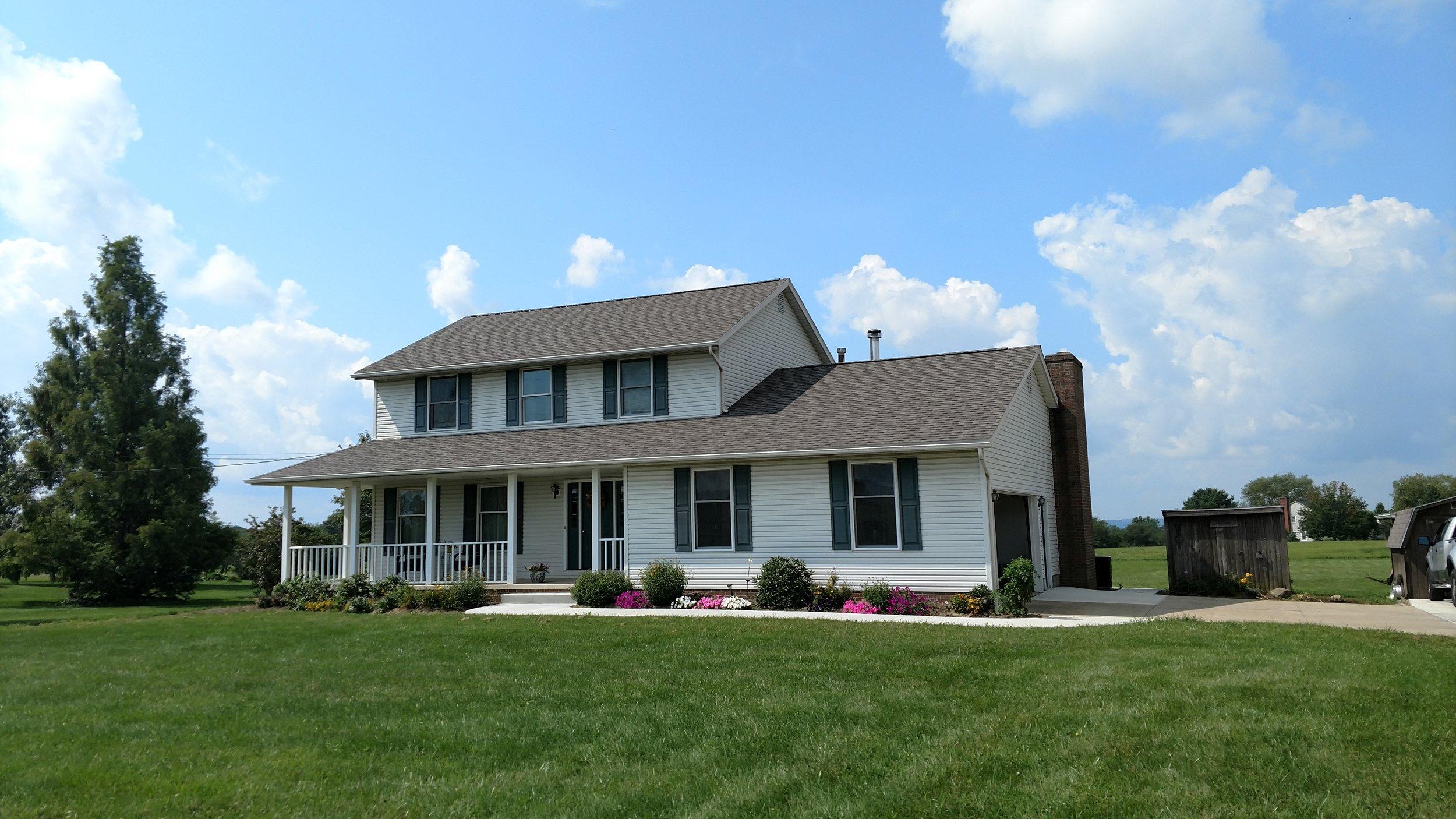 GAF Shingle Roof Installation Canton, Ohio.
