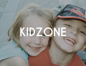 KIDZONE  We love our kids!Every Sunday God's Word is taught through a fun, loving, atmosphere through skits, crafts, music, and many other hands on experiences.