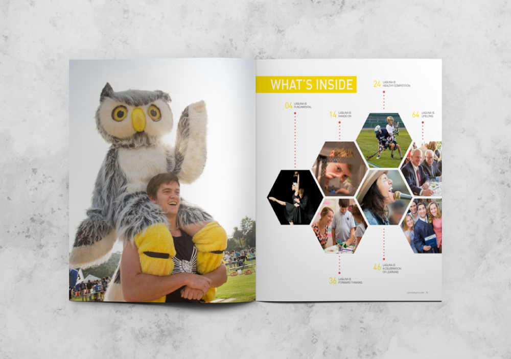 Laguna blanca magazine | LAYOUT DESIGN  check out the full project here.