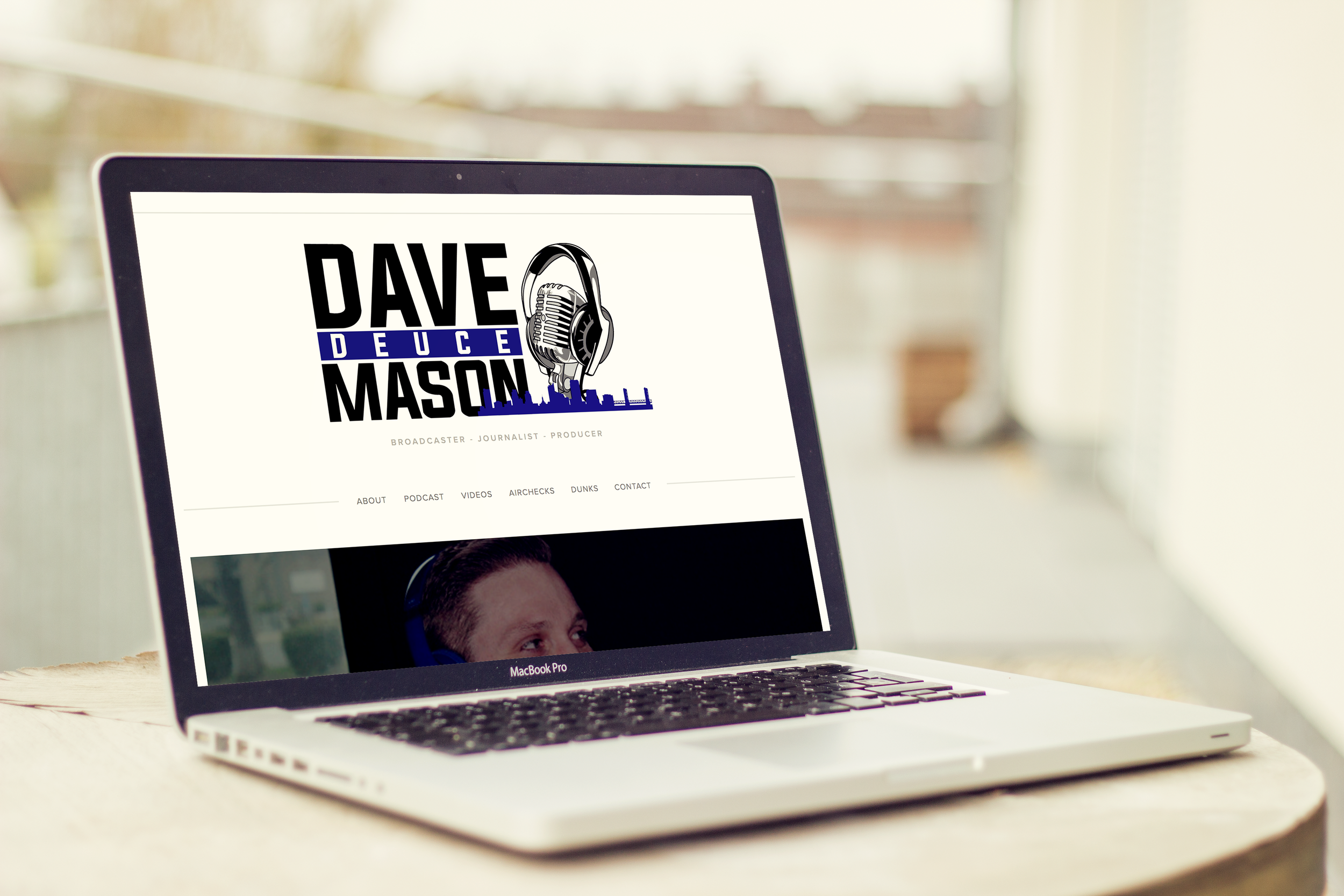 DAVE DEUCE MASON | web design  see the site here.
