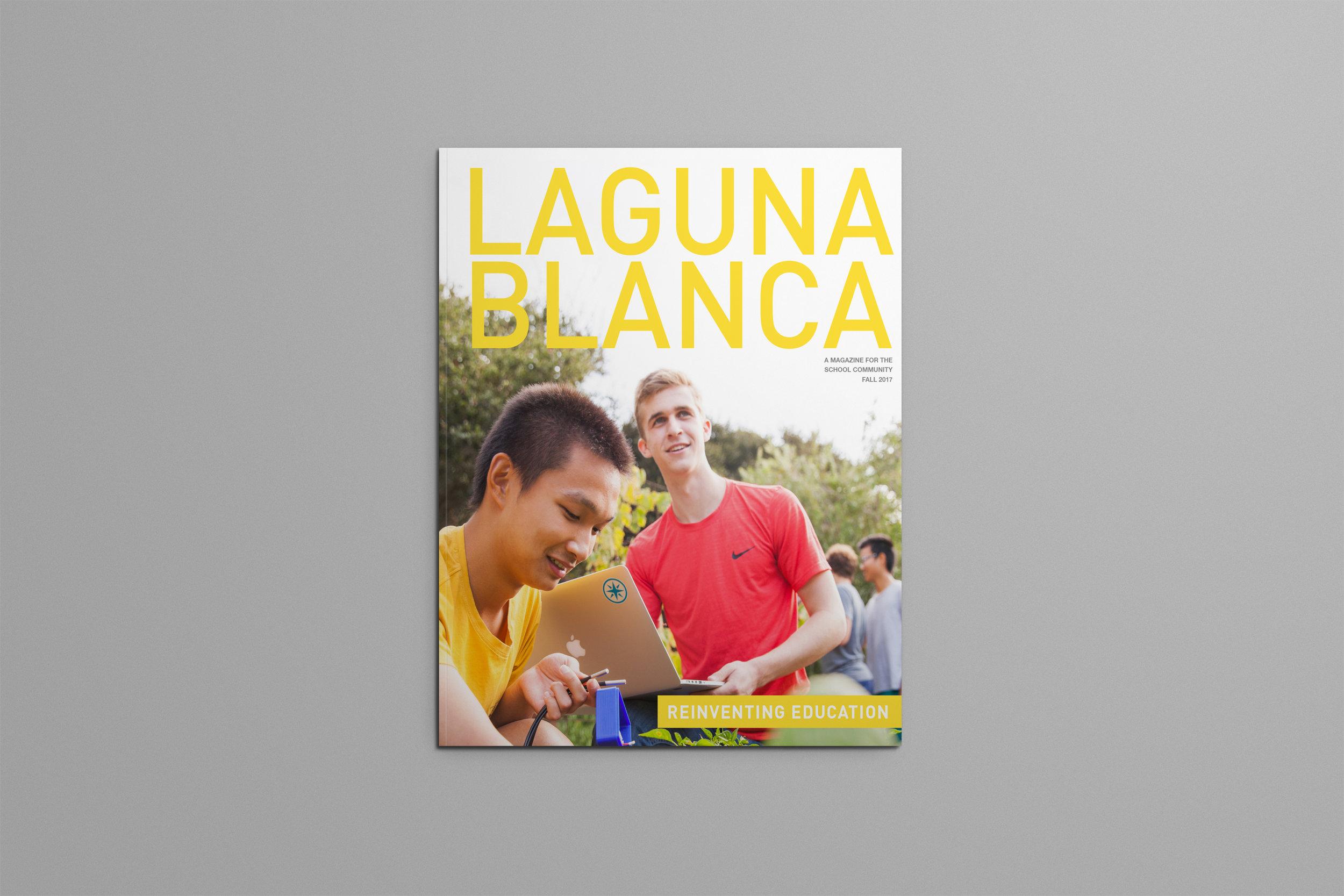 Laguna blanca magazines | Layout design  FALL 2017  and  spring 2017