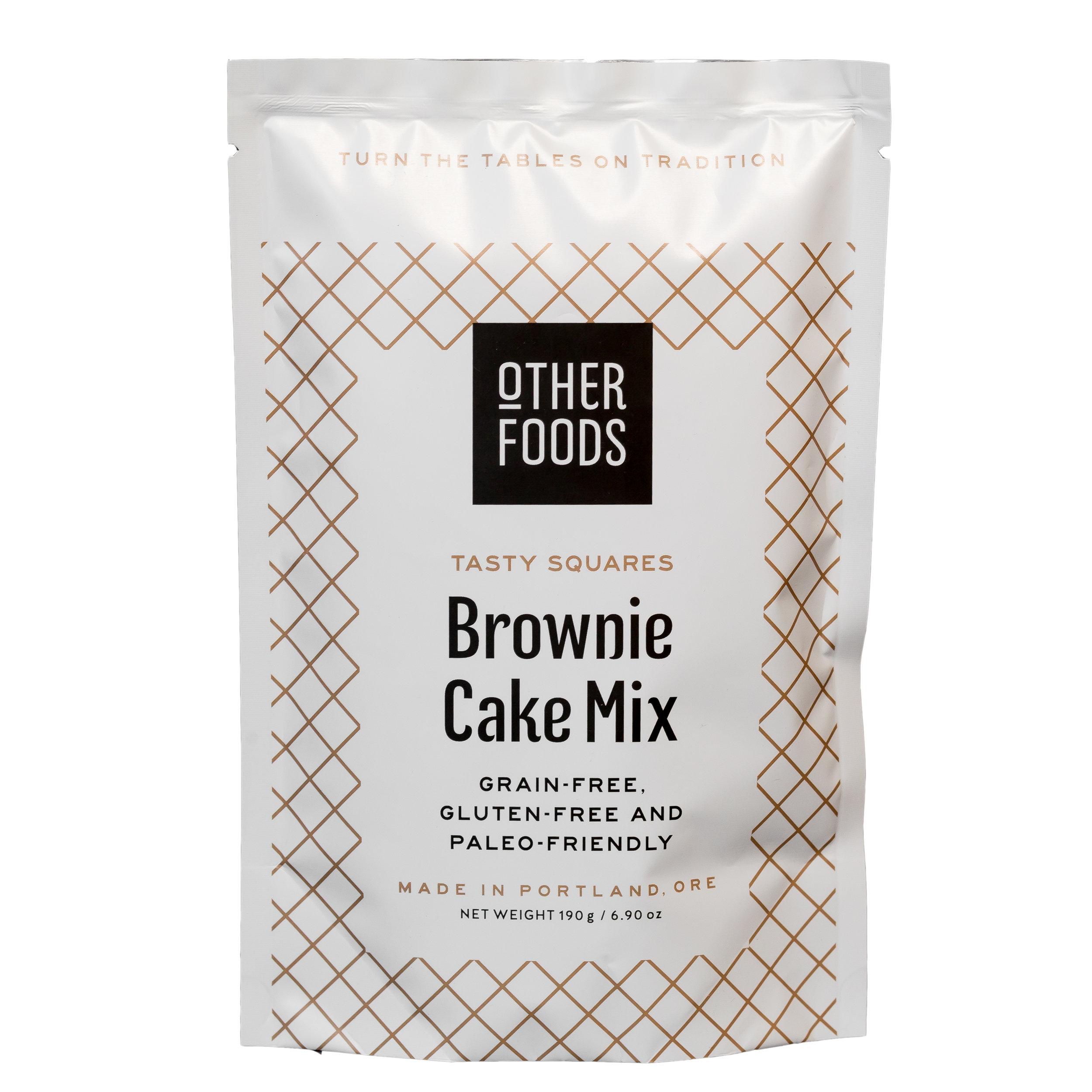 brownie packaging design