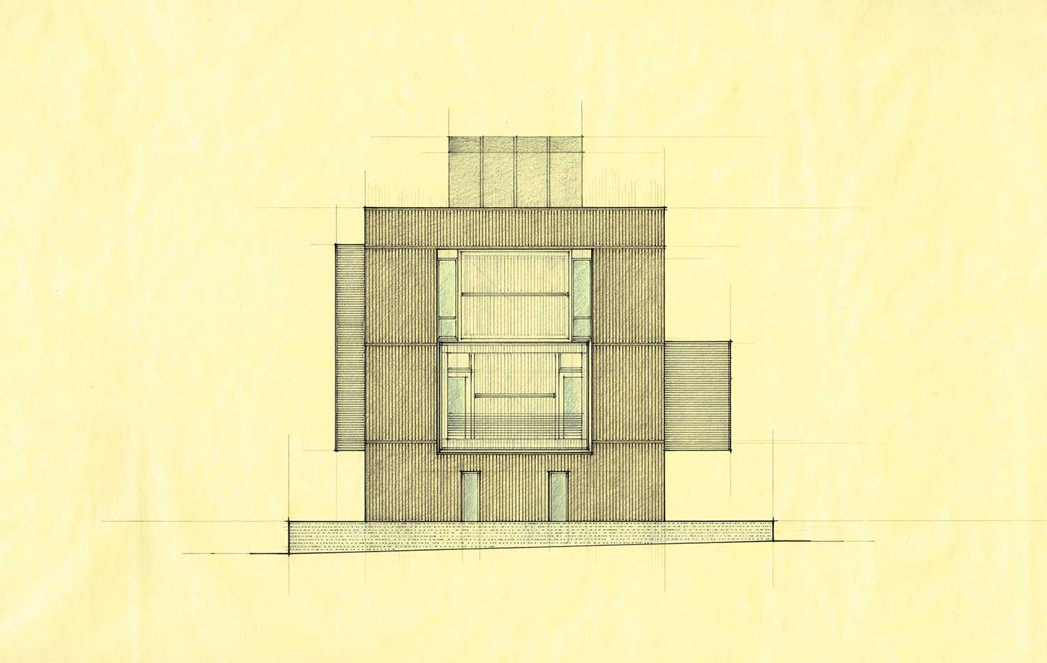 South Elevation Color Rendering