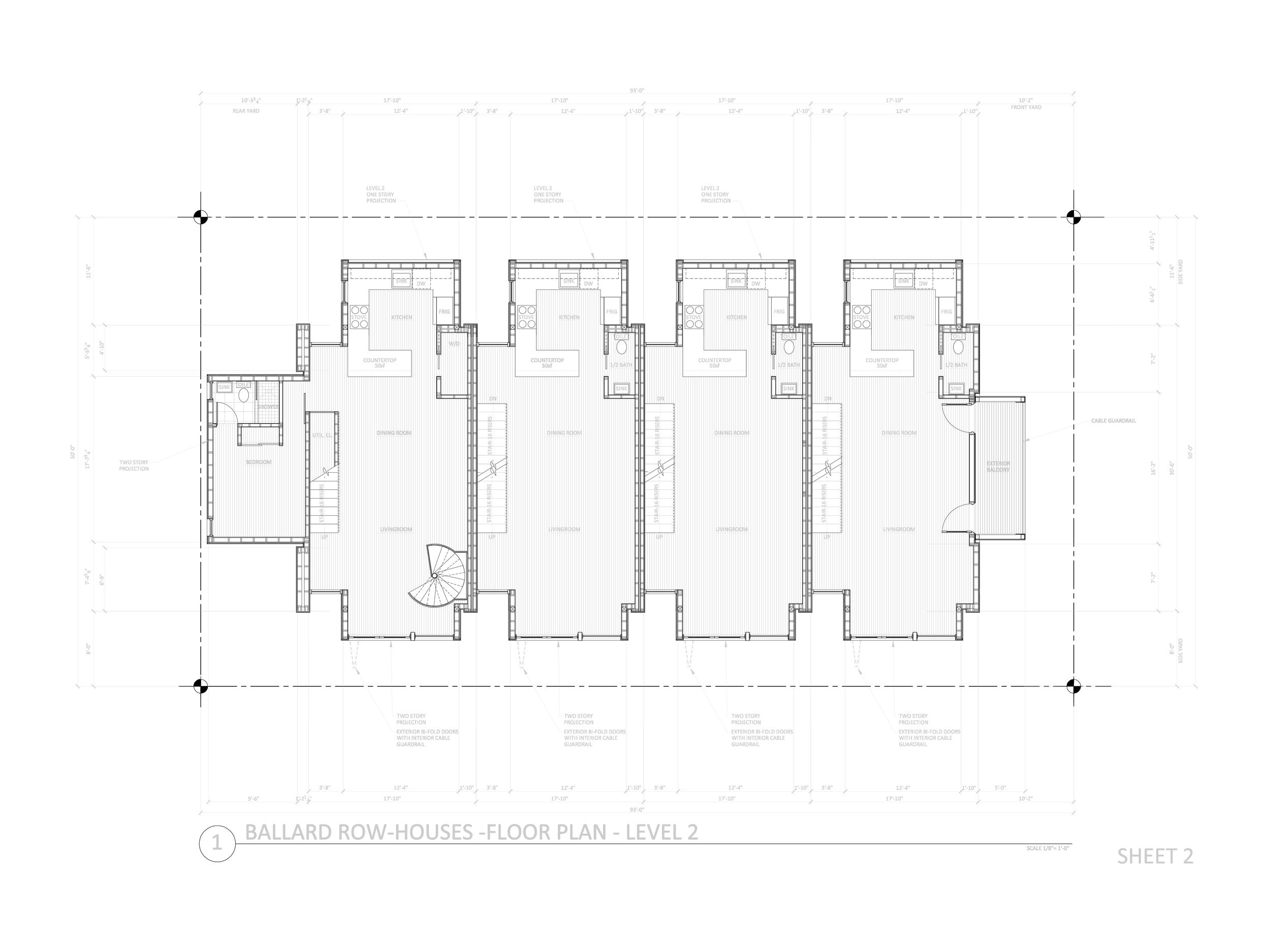 DD Set - Second Floor Plan