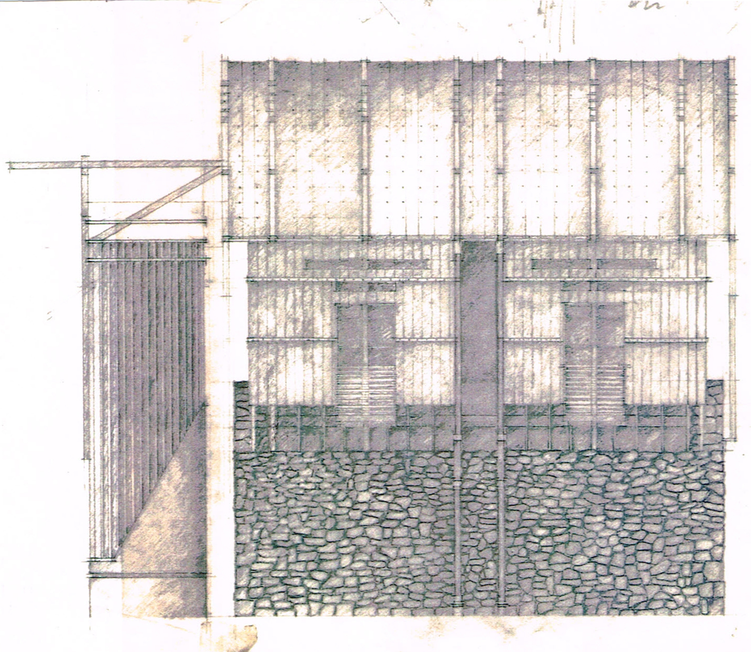 South Elevation Sketch